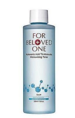 FOR BELOVED ONE寵愛之名 三分子玻尿酸保濕化妝水200ml全新封膜/效期2019.10 【淨妍美肌】