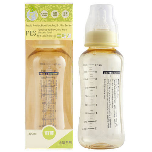 奇哥 透氣PES奶瓶(標準口徑) 300ml【德芳保健藥妝】