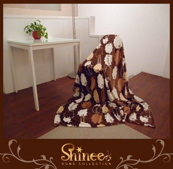 SHINEE 特級法蘭絨毯《可愛風格》1入--- 毯子 棉被 四季被 被子