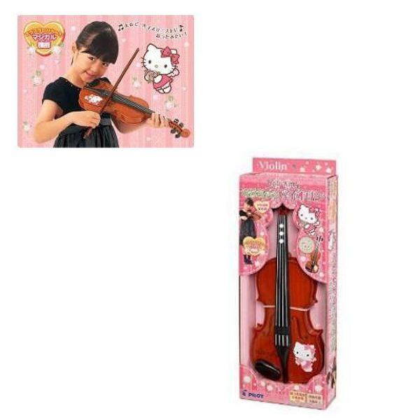 【震撼精品百貨】Hello Kitty 凱蒂貓~ HELLO KITTY 小提琴玩具