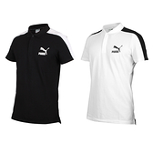PUMA 男短袖POLO衫(短袖上衣 慢跑 高爾夫 網球 羽球 休閒 歐規≡體院≡ 596449