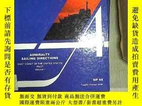 二手書博民逛書店ADMIRALTY罕見SAILING DIRECTIONS200