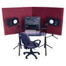 美國 Auralex MAX-Wall 移動式吸音牆 附腳架 可拼湊組合 酒紅 NRC 1.05 10x 51x122cm