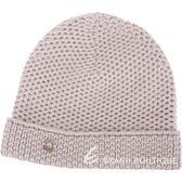 Loro Piana 100%喀什米爾可可灰棕粗針織毛線帽 1820531-C5