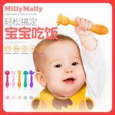 嬰兒勺子寶寶矽膠軟勺新生兒童訓練學吃飯喂水輔食飯勺 名創家居館