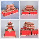 3d木質立體拼圖成年模型diy