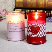 香薰蠟燭玻璃洞房進口精油無煙杯歐式結婚浪漫婚禮龍鳳燭【俄羅斯世界杯狂歡節】