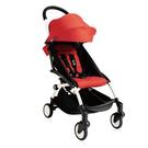 【現貨-第3代】法國 BABYZEN YOYO plus/YOYO+ 6m+嬰兒手推車(白骨架) 紅色