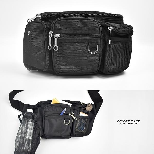 腰包 實用多層休閒隨身包NZD33