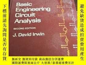 二手書博民逛書店VASIC罕見ENGINEERUNG CIRCUIT ANALYSIS血管工程電路分析Y384707