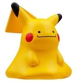 〔小禮堂〕神奇寶貝Pokémon 百變皮卡丘 迷你塑膠公仔玩具《黃》寶可夢公仔.模型 4904810-11371