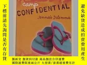 二手書博民逛書店英文原版罕見Jenna s Dilemma (Camp Con