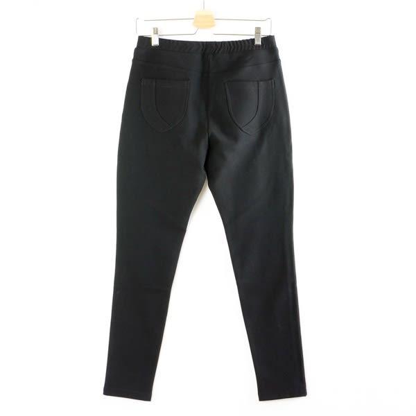 【MASTINA】顯瘦款長褲-黑  秋裝限定嚴選