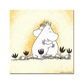 【Moomin】有你在真好(80*80) - 無框畫