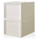 【RISU】北歐風堆疊抽屜櫃組(加大版) L -白色