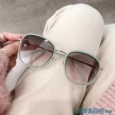 墨鏡 2021新款G家圓框墨鏡女ins網紅街拍大臉港風太陽鏡男顯瘦防紫外線 快速出貨