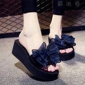 一字拖鞋 涼拖鞋女一字拖沙灘鞋