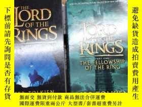 二手書博民逛書店The罕見Lord of the Rings (Part Two:The Two Towers)Y85718