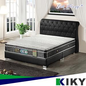 【KIKY】姬梵妮 二代慾望之翼防塵防蹣彈力獨立筒床墊(雙人加大6尺)