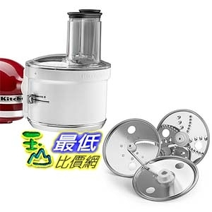 [美國直購] KitchenAid KSM1FPA Food Processor Attachment, White攪拌機配件