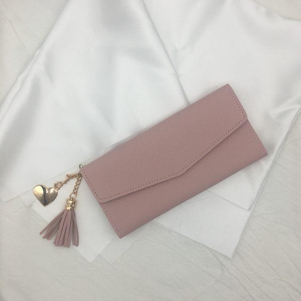 長夾長款錢夾女士手拿包簡約大容量錢夾多卡位女生皮夾子 愛麗絲精品