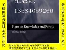 二手書博民逛書店【罕見】Plato On Knowledge And Forms