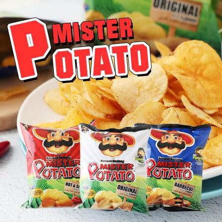 馬來西亞 Mister Potato 薯片先生洋芋片 (袋裝) 75g 洋芋片 薯片 薯片餅乾 餅乾 零食
