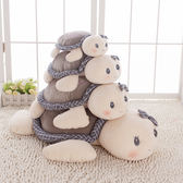 可愛小烏龜毛絨玩具寶寶睡覺抱枕安撫布娃娃兒童烏龜軟體公仔玩偶wy  年貨慶典 限時鉅惠