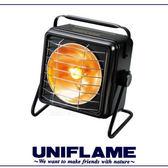 【UNIFLAME 日本 方型暖爐《黑》】630037/瓦斯暖爐/小暖爐/汽化爐/-5℃燃燒可能★滿額送