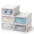 加厚抽屜式收納柜可疊加透明收納箱塑料兒童...