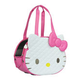 Hello Kitty 凱蒂貓 正版授權 卡翠娜寵物包 外出籠 粉《YV8889》快樂生活網