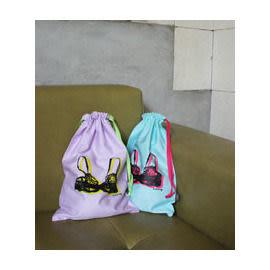 韓國文具Lmnop*愛旅行收納束口包 襪子收納袋 內衣收納袋INJOY Mall【S108026】