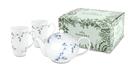 德國Weimar Tealicious一壺兩杯雙人茶具禮盒組 - 藍調枝椏