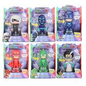 【PJ Masks 睡衣小英雄】 6 吋說話可動人偶 ( 六款可選 )╭★ JOYBUS玩具百貨
