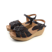 HUMAN PEACE 涼鞋 黑紫色 女鞋 no134