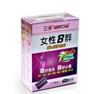 【加購品】三多 女性B群鐵&鎂強化錠(60錠/盒)