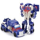男孩變形玩具金剛擎天大黃蜂警車汽車機器人幼兒童益智力手拼玩具