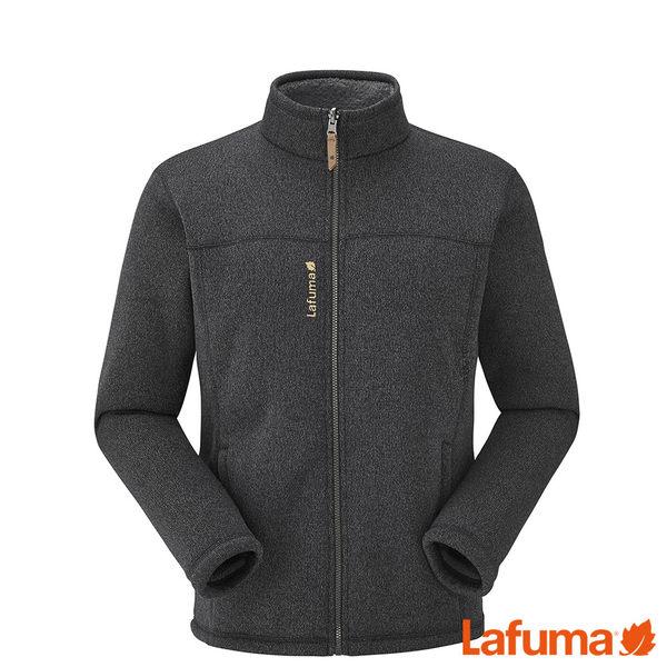 Lafuma 男 CALI 保暖刷毛外套-黑 LFV111760247【GO WILD】