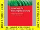 二手書博民逛書店Innovation罕見in Der NachhaltigkeitsforschungY405706 Walt