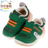 《布布童鞋》BABYVIEW活潑寶寶墨綠色透氣機能寶寶學步鞋(13~16.5公分) [ O8U10AC ]