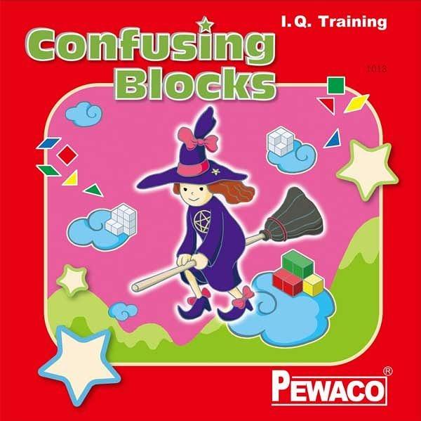 PEWACO(1013)Confusing Blocks巫婆的法術-空間、數學、邏輯之益智桌遊