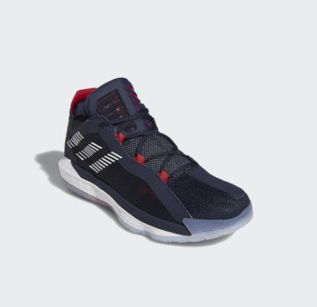 Adidas-DAME 6 USA Damian Lillard Lightstrike男款深藍籃球鞋-NO.FY0871