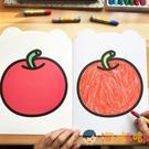 畫畫書幼兒園涂鴉填色本涂色繪本兒童涂色本【淘嘟嘟】