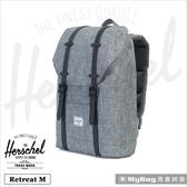 Herschel 後背包 13吋休閒電腦後背包 Retreat M 得意時袋
