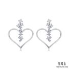 鑽石總重 : 0.483克拉/ 18顆 鑽石顏色淨度: GH / VS 貴金屬材質 : P900鉑金