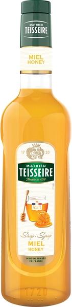 Teisseire 糖漿果露-蜂蜜風味 Honey Syrup 法國頂級天然糖漿 700ml