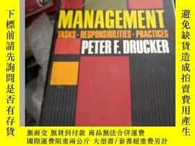二手書博民逛書店罕見Management:Tasks,Responsibilities,Practices(英文原版管理學大師彼得