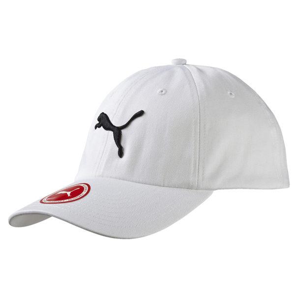 Puma 白色 運動帽 老帽 刺繡 logo 六分割帽 6-Panel 經典棒球帽 運動帽 棒球帽 05291902