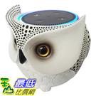 [106美國直購] Owl Statue Crafted Guard Station for Amazon Echo Dot 2nd and 1st - BFF For Alexa