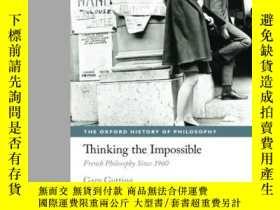 二手書博民逛書店Thinking罕見The Impossible: French